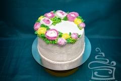 """Торт """"Нежные розы"""""""