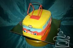 """Торт """"Трамвайчик"""""""