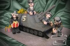 """Торт """"15 лет Wargamming"""""""