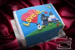 """Торт """"Love is…"""""""
